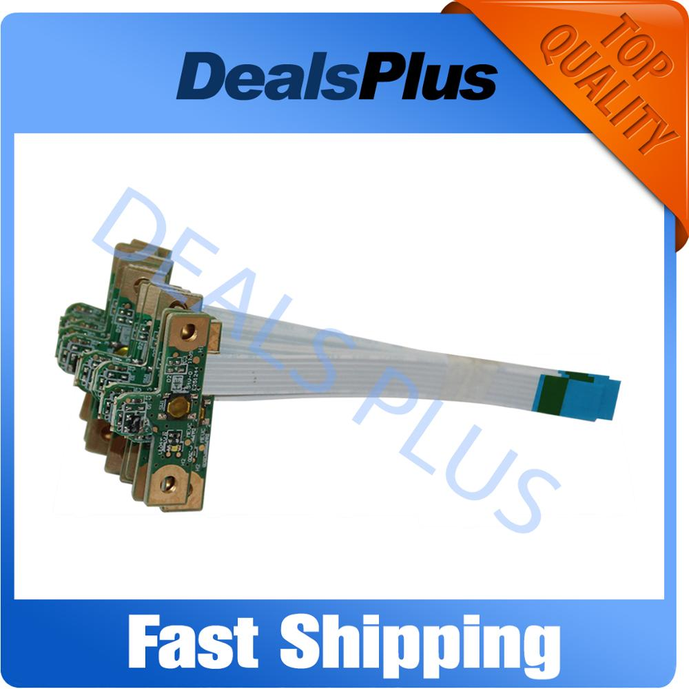 New For HP Pavilion G4 G6 G7 G6-1000 G7-1000 G4-1125DX 1015 Power Button Board With Cable 640212-001 643502-001 DAOR22PB6C0