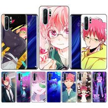Black Silicone Case for Huawei P30 P20 P10 Mate 30 20 10 Lite Pro Coque Bags Cover Capas Back Saiki Kusuo no Psi Nan(China)