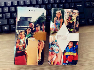 Image 5 - Custom made any image pic Photo DIY Wallet Leather Phone Case Flip Cover For Apple iPhone X 8Plus 8 7Plus 7 6sPlus 6s 6Plus 6
