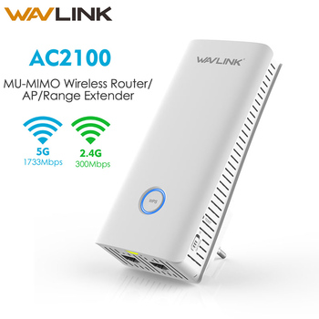 New AC2100 MU-MIMO Gigabit Wireless WiFI Router Wi fi Range Extender Dual band 5G 2.4G Smart Connect wifi Repeater Home Wavlink