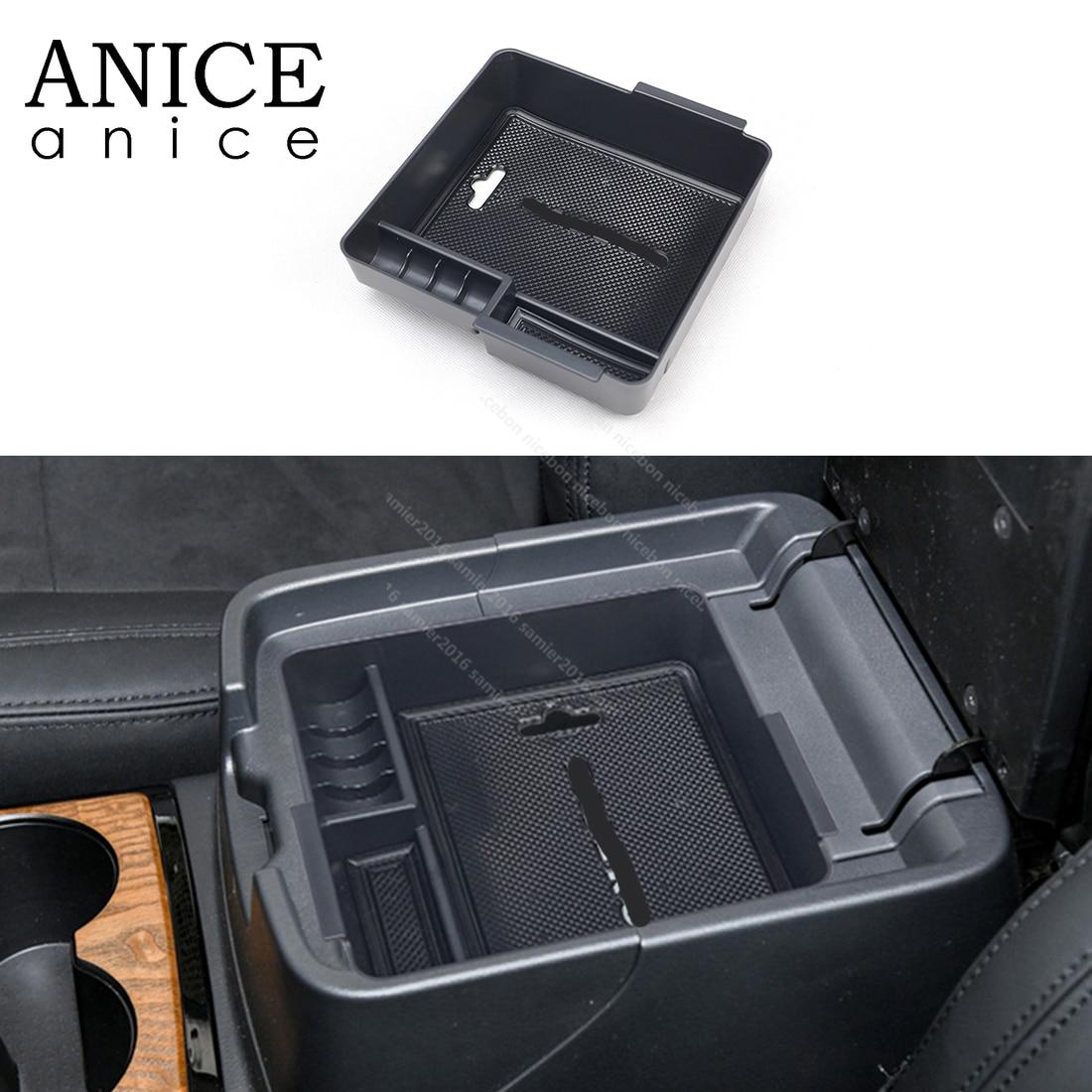 Storage Box Cover For Mitsubishi PAJERO 2007 2008 2009 2010 2011 2012 2013 2014 2015 2016 2017 2018 2019