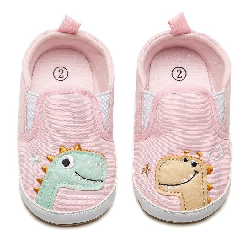 Newborn Baby Girl Boy Toddler Cartoon Soft Sole Crib Shoes First Shoes Walker