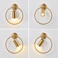 Lámparas de iluminación Led para Espejo exterior, Luces para dormitorio, Noche, Hogar, baño, candelabro de pared