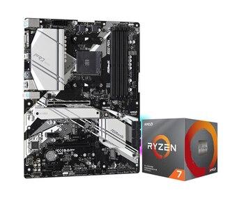 ASRock B550 Pro4 motherboard +R5 3600X/3600XT R7 3700X/3800X/3800XT R9 3900X 3900XT CPU board set