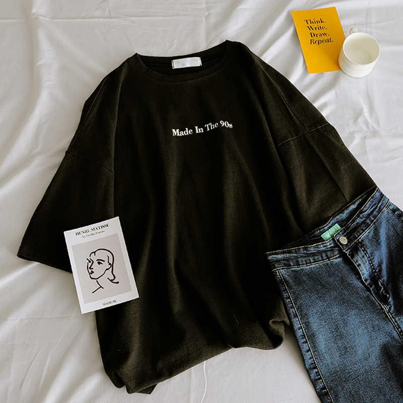 של תינוק נשים T חולצה מקרית מצחיק tshirts מקרית טי למעלה Hipster Tumblr נשי קצר שרוול Harajuku חולצות אישה בגדים