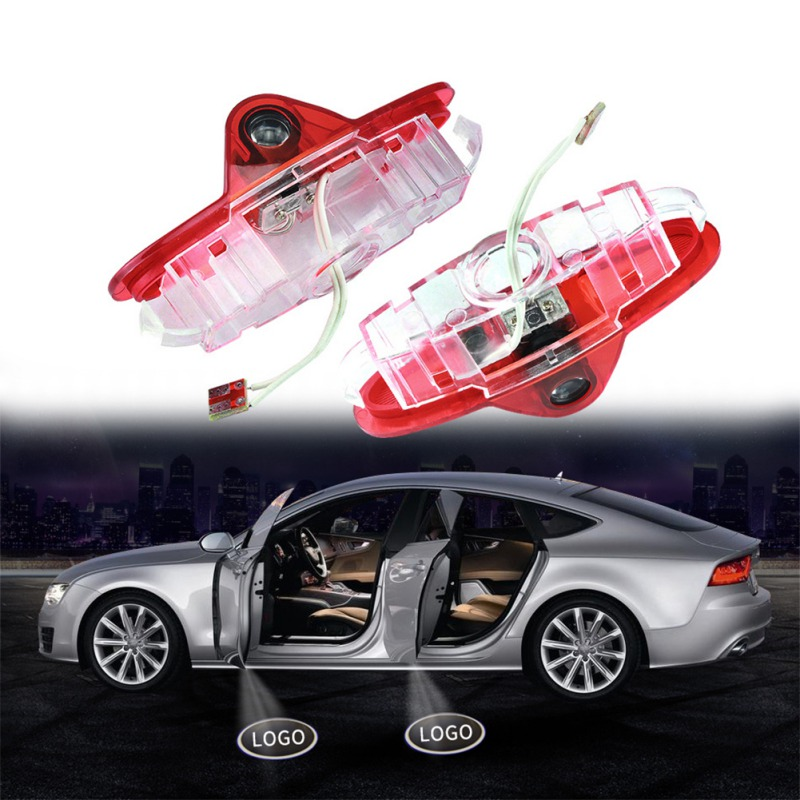 2PCS Car <font><b>LED</b></font> Step Door Courtesy Welcome Light Door <font><b>Logo</b></font> Projector Lamp Ghost Shadow Laser Projector Lamp For <font><b>Renault</b></font> image