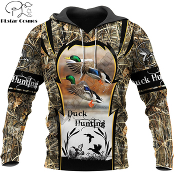 Animal Duck Hunting 3D Printed Men Hoodie Harajuku Fashion Sweatshirt Unisex Casual Pullover sudadera hombre hoodies drop shipp fashion marvel men hoodies the avengers i am groot 3d printed cute hoodie zip hoodies unisex casual streetwear sudadera hombre