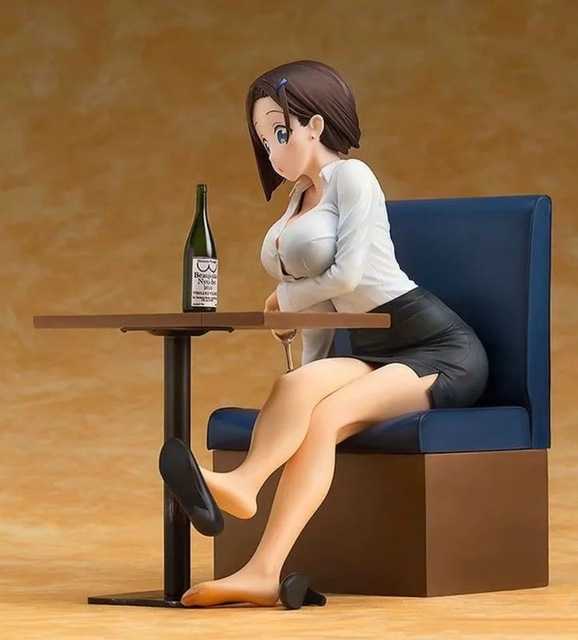 16CM Getsuyoubi no Tawawa on Monday 1/7 sexy Action Figure PVC Collection Model toys brinquedos for christmas gift