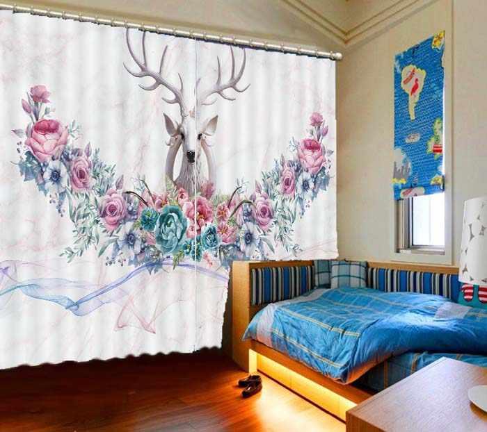 2019 dzieci blackout zasłony zwierząt salon sypialnia nowoczesne zasłony okienne styl japoński zasłony