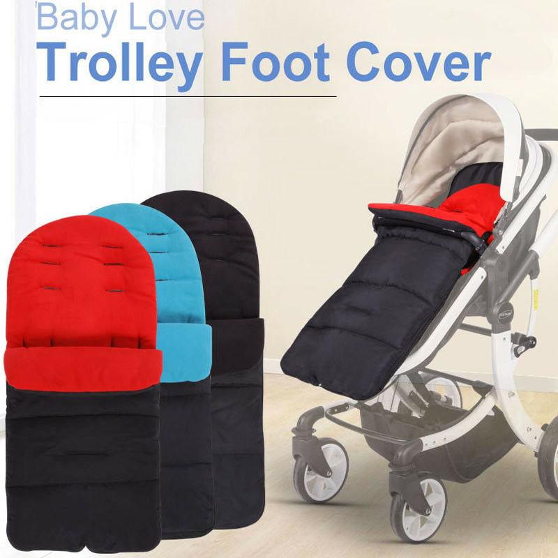Universal Windproof Warm Baby Sleep Stroller Foot Muff Buggy Pushchair Pram Trolley Mat Foot Cover Footmuff For Winter Autumn