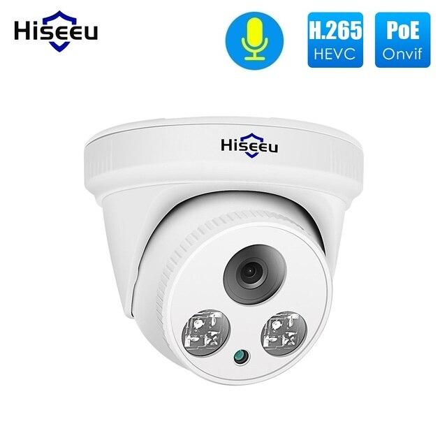 Купольная IP камера Hiseeu, 2 МП, 1080P, с функцией ночного видения