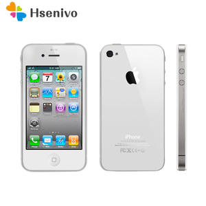 Apple iPhone 4 512mb 16gb Unlocked 8GB WCDMA/GSM 5MP Used 5mp-Camera Dual-Core 100%Original