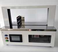 220 V/110 V 5-50N 20mm-30mm máquina de encuadernación automática de papel y plástico de doble uso flejadora de cinturón (470*200 m) máquina de embalaje