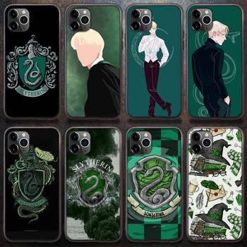 Draco Malfoy Phone Case for iPhone 8 7 6 6S Plus X 5S SE 2020 XR 11 12 Pro mini pro XS MAX image