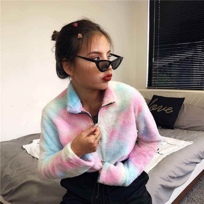 Women Long Sleeve Hoodies Turn Down Collar Crop Tops Hoodie Jumper  Short Sweatshirts Spring Outfits Fashion Sudaderas Mujer