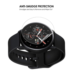 Image 4 - 3Pack For Samsung Galaxy Watch Active2 40mm/44mm Smart Watch 5H TPU Nano Anti shock High Definition Screen Protector Clear Film