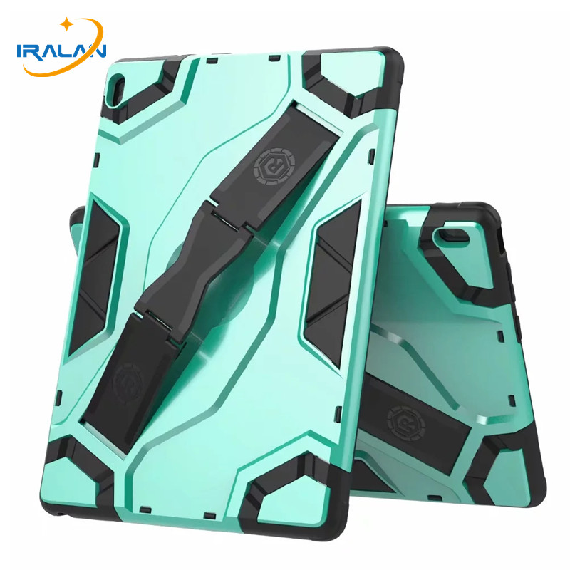 <font><b>Kids</b></font> Safe Shockproof Heavy Duty Silicone <font><b>Tablet</b></font> Cover for Lenovo TAB E10 TB-X104F <font><b>10.1</b></font> inch Hard Handle Holder <font><b>Case</b></font>+Film+Stylus image