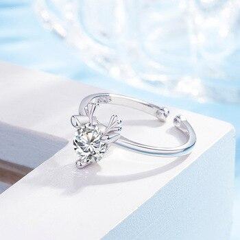 Crystal Elk Antler Ring 2