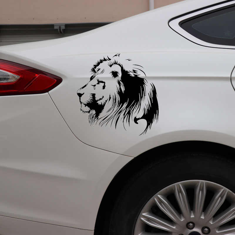 Car-styling Meditation Lion Car Stickers Voiture Vinyl Decal For Car Decar Sticker For Cars Acessories Decoration