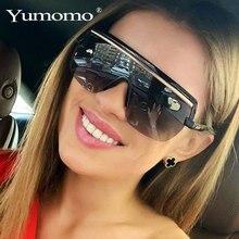 Oversized Square Sunglasses Women Luxury Brand Fashion Flat