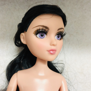 Image 2 - new 36cm Original Girls MGAdoll 3D big Violet brown eyed girl Princess Dolls 11 joints Princess doll toy Dol Christmas Gift