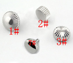 1PC Stainless Steel Watch Crown watch Movement Crown Used For 6497 6498 ST36 Watchmaker Repair Tool Parts watch accessories