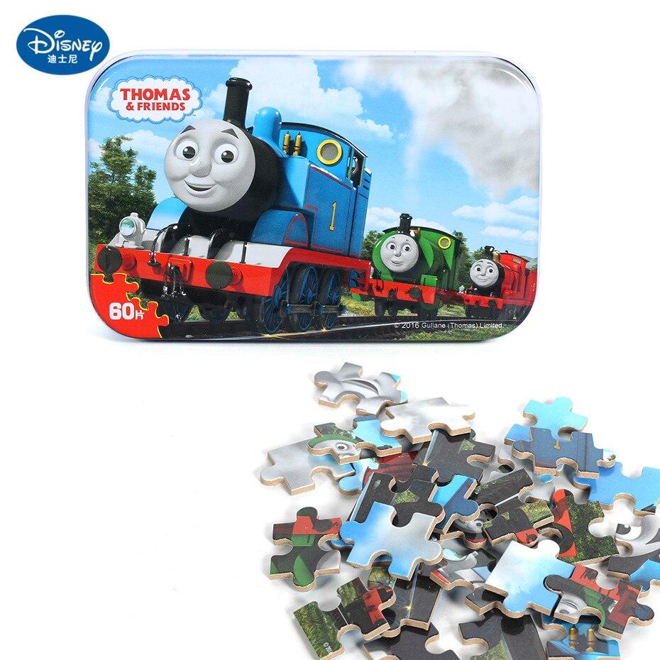 Disney 60 Piece Princess Frozen Wooden Box Puzzle Early Education Children Bottom Box Puzzle Birthday Toys Intelligence Puzzle 19