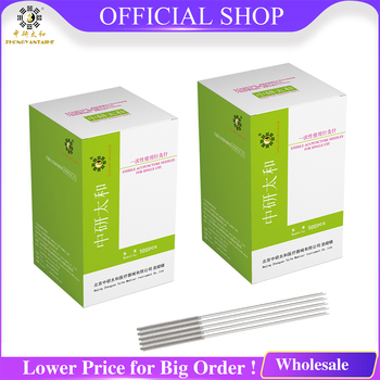 Needle Acupuncture-Needles Beauty Wholesale Massage Zhongyan 1000pcs Tube Disposable 0.16 0.18 0.20 mm Acupuncture Needles hand acupuncture needles injector acupuncture needle locator strength stainless steel traditional chinese acupuncture treatment
