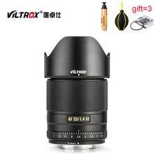 Viltrox 33mm f1.4 xf af 33/1. lente de foco fixa do auto foco, 4 stm, para fujifilm fuji x-mount X-T3 X-H1 X-T30 x20 X-T20 X-T10 câmera