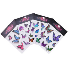 3D Temporary Colorful Butterfly Tattoo Sticker Body Art Removable Waterproof