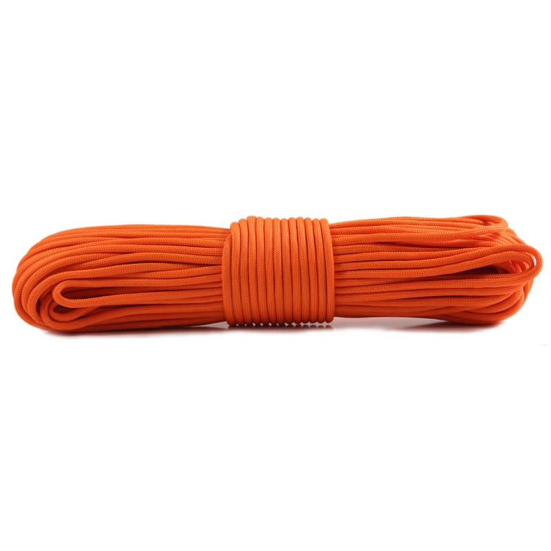 550 4mm Rope 10 Strands Parachute Cord Rope Climbing Emergency Survival Kit Multifunctional Outdoor EDC Tools Paracord     - title=