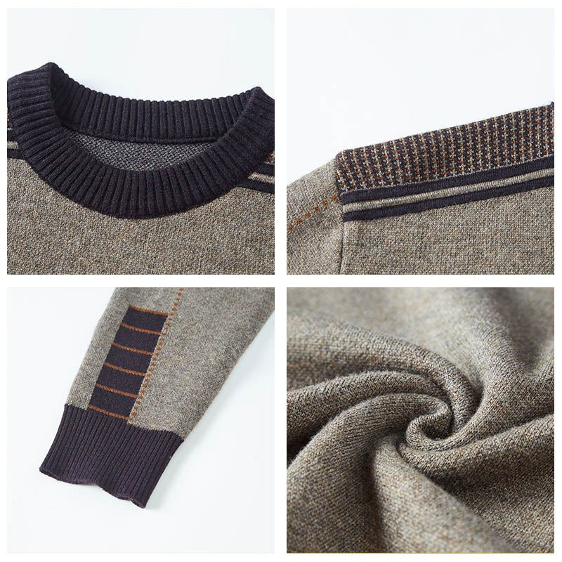 HIYSIZ Brand Autumn Winter Sweater Men Knitwear men O-Neck Fashion Style Sweaters Pullover Clothes Pull Homme Clothing  H3027