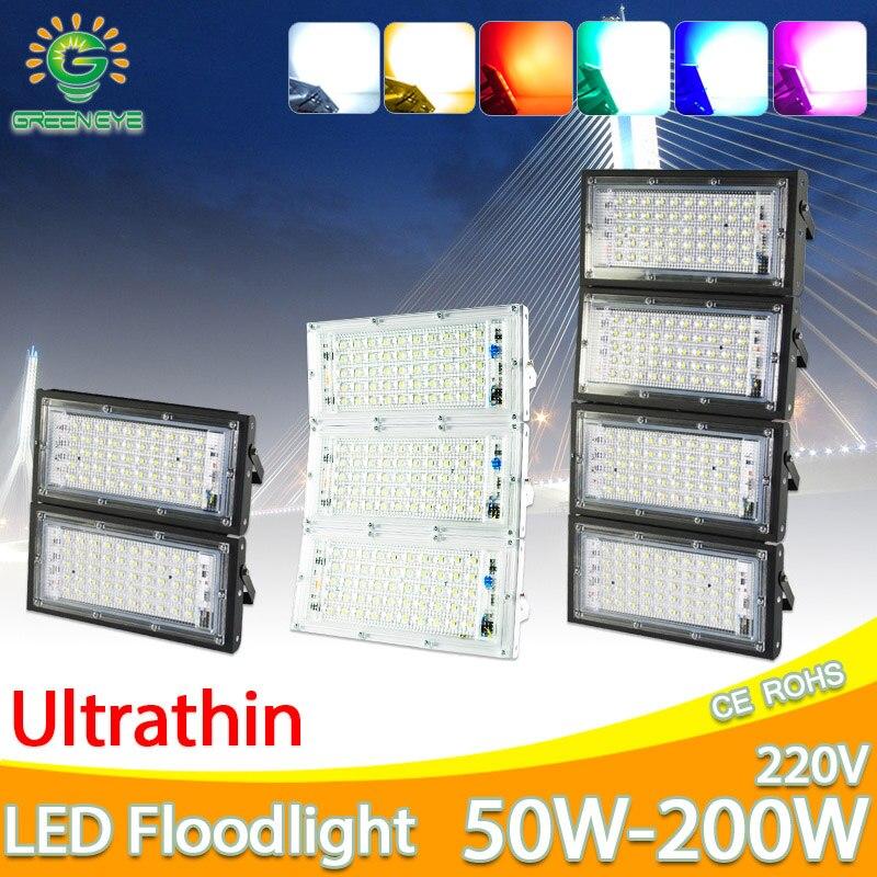 LED Flood Light 10W Square AC//DC 12V Spotlight Waterproof Integrated COB IP65