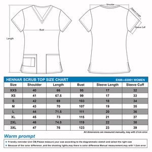 Image 2 - تيشيرت نسائي مطبوع من هينار برقبة على شكل حرف v 100% قطن ملابس نسائية