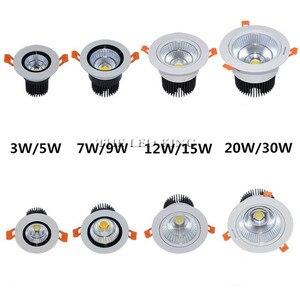 Image 3 - Foco led blanco especial Mini 3W 5W 7W COB, lámpara empotrada regulable, lo mejor para techo de casa, oficina, hotel, 110V 220V