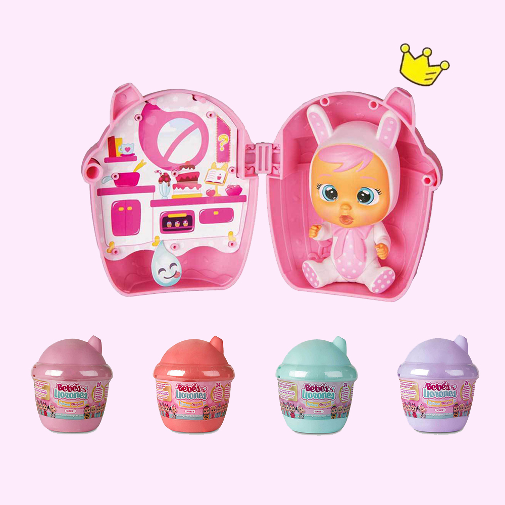 Cry Babies LOL Suprise Dolls OEAK Ball Sent Random Boy Girl Toy Children Lol Doll Will Shed Tears Birthday Gift For Children 2