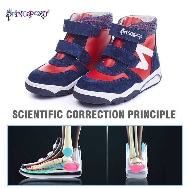 Princepard Winter Boots Fur Orthopedic
