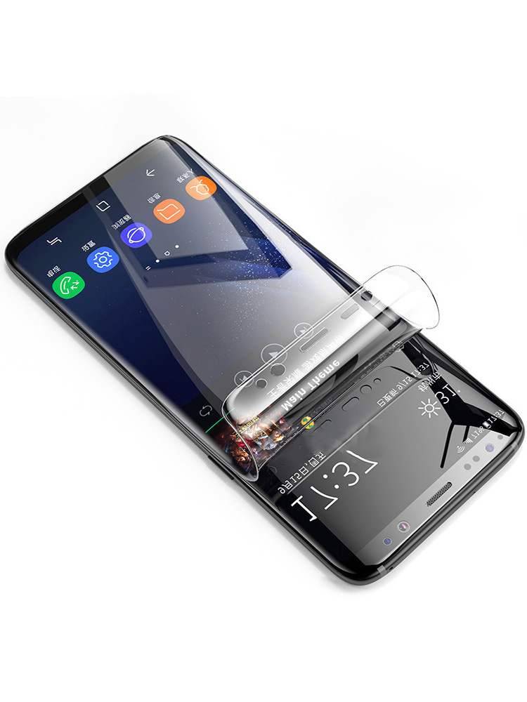 Hydrogel-Film Screen-Protector S9 Soft S8-Plus Note 10 Samsung Galaxy Full for S20-S10