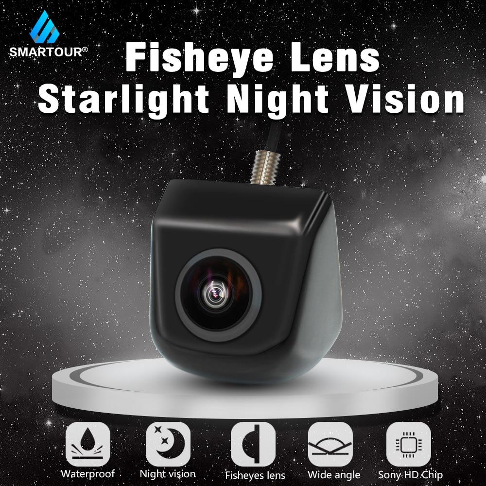 Smartour Fisheye Objektiv Sternenlicht Nacht 170 Grad HD Sony/MCCD Auto Hintere Ansicht-rückseite Kamera Für Parkplatz Monitor