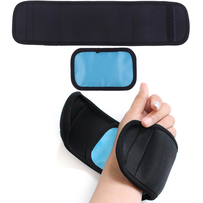 Reusable Ice Pack For Injuries Gel Strap Wrap Hand Foot Wrist Elbow Relief Pain Cold Hot Cold Therapy Relief Pain Ice Pack