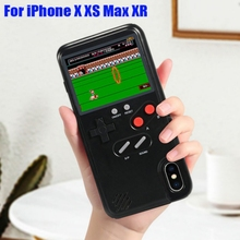 Gameboy Phone Case iPhone X XR XS Max For iPhone 6 7 8 Plus Color Display 36 SF
