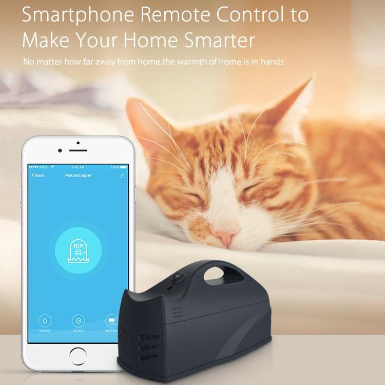 Tuya беспроводная мышь-ловушка для мышей, ловушка для крыс, ловушка для вредителей, ловушка для грызунов, WiFi сенсор, приложение для управления,...