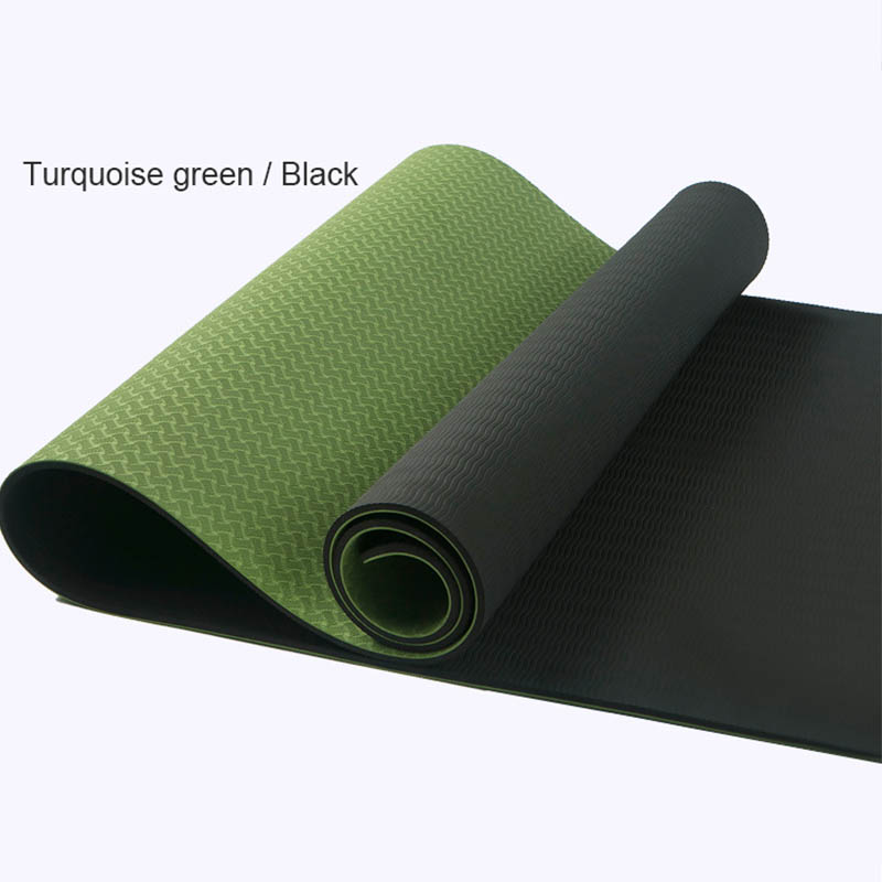183*61*0.6cm Non-Slip Profession Yoga Mat Sport Gym Soft Pilates Mats Foldable for Body Building Fitness Exercises Equipment