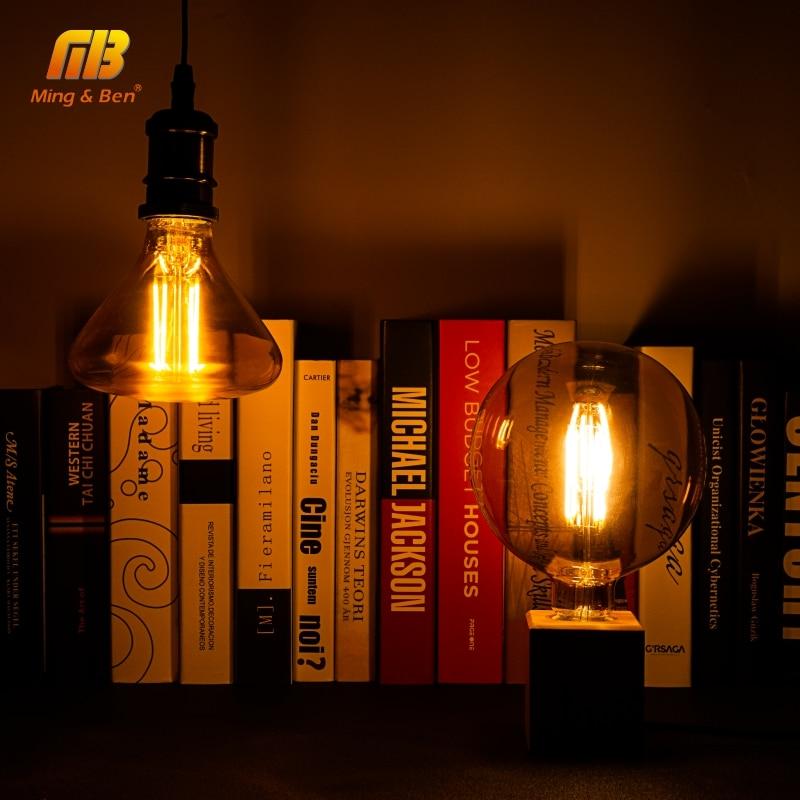 edison do vintage lampadas led filamento lampada 04