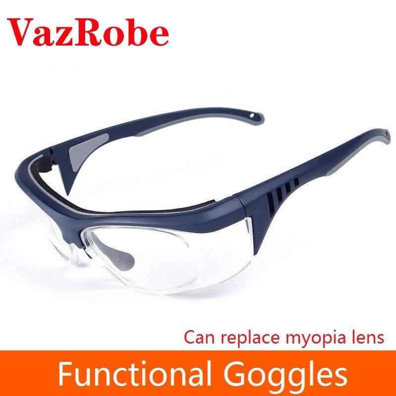 Vazrobe lunettes de sécurité lunettes Anti éclaboussures industriel poussière lunettes de protection chimie homme 1.56 1.61 1.67 indice lentille