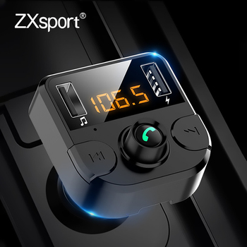 Car Fm transmitter Bluetooth 5.0 Car Mp3 Player Modulator Adapter For Volvo XC60 XC90 S60 V70 S80 S40 V40 V50 XC70 V60 C30 850 image