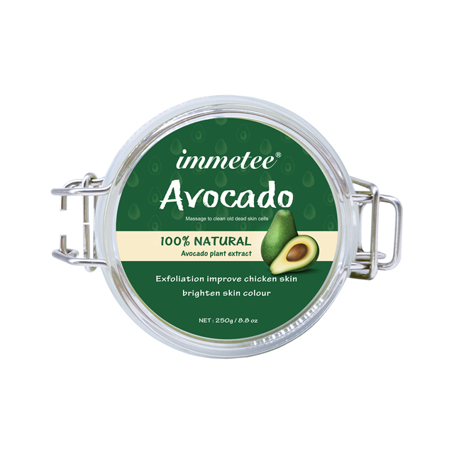 Avocado Scrub Body Shea Butter Cream Facial Dead Sea Salt For Exfoliating Whitening Moisturizing Anti Cellulite Treatment Acne 2