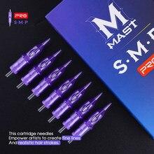 SMP & PMU mât PRO 0.18mm/0.20mm/0.25mm 1RL 3RL tatouage aiguilles de maquillage Permanent cartouche ronde Liner fournitures de stylo de tatouage