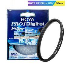 HOYA 52mm Pro 1 Digital UV Camera Lens Filter Pro1 D UV(O) DMC LPF HOYA Filter for Nikon Canon Sony Fuji