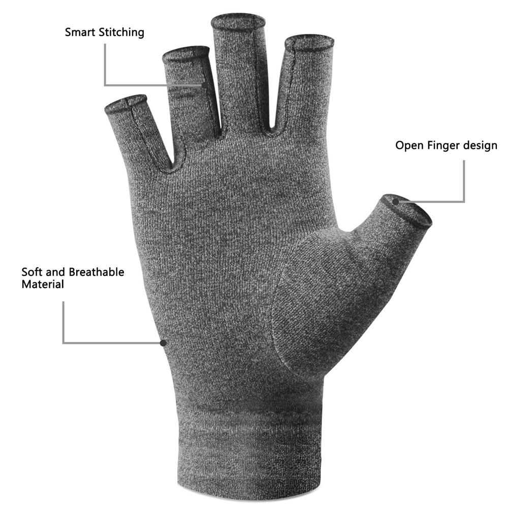 Men Women Rheumatoid Compression Hand Glove for Osteoarthritis Arthritic Joint Pain Relief Wrist Support 3